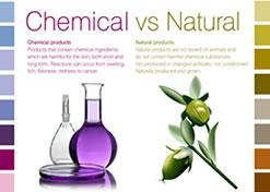 ACO認定オーガニック製品には一切の石油由来(合成化学原料)の原料は使用されていません。