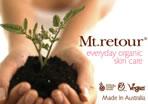Mt. retourの認定オーガニック(無農薬有機栽培)スキンケア製品が地球を守る